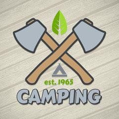 Camping symbol