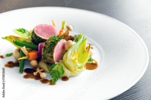 Delicious gourmet food - 70838661