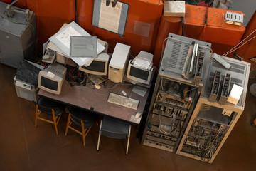 Vintage photo of obsolete technology