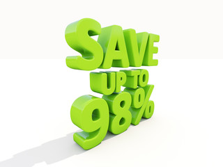 Save up to 98%