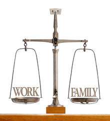 Perfect balance between work and family