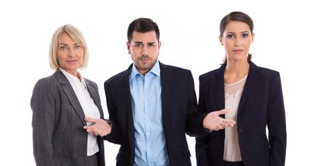 Frauenquote: Gruppe Mann Frauen - Gleichstellung Konzept
