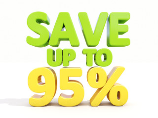 Save up to 95%