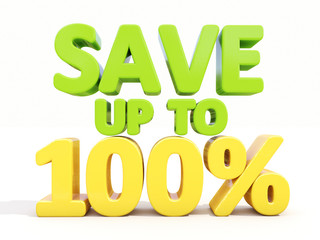 Save up to 100%