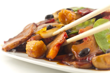 Chinese Black Bean Pork Takeout