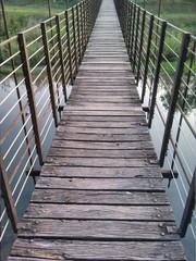 Ponte di legno a Millesimo - Savona Italia