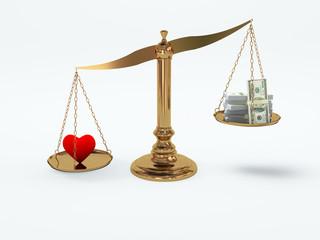 Love more precious than money
