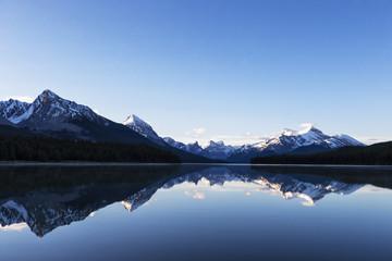 Kanada, Alberta, Jasper Nationalpark, Maligne Berg, Maligne See