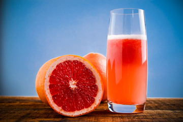 red grapefruit juice