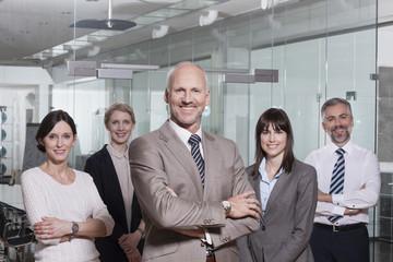 Gruppe von Geschäftsleuten im Büro