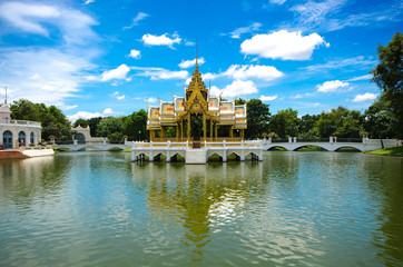 Bang Pa-In  Palace , Ayutthaya , Thailand