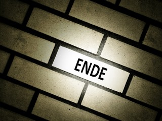 The End - Das Ende
