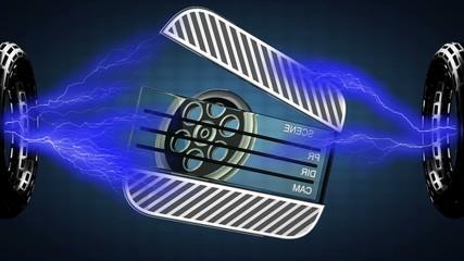 loop rotate cinema clap