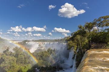 Südamerika, Argentinien, Parana, Iguazu Nationalpark, Iguazu Wasserfälle