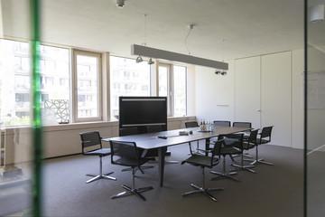 Sitzungsraum eines modernen Büros