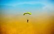 Leinwandbild Motiv parachute against blue sky