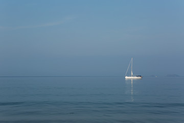 calm on the Pacific