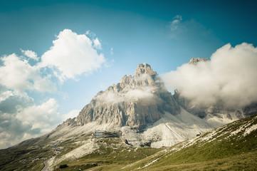 Italien, Provinz Belluno, Veneto, Auronzo di Cadore, Wolken bei Tre Cime di Lavaredo