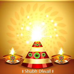 Diwali Cracker Background