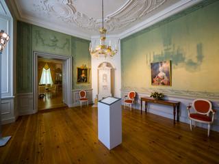 Deutschland, Eutin, Eutin Castle, Showrooms mit historischem Interieur