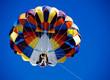 Parasailing over the blue sky - 70853211