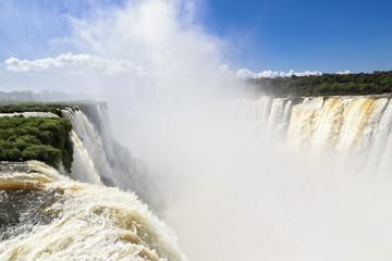 Südamerika, Argentinien, Parana, Iguazu Nationalpark, Iguazu Wasserfälle, Teufelsschlund