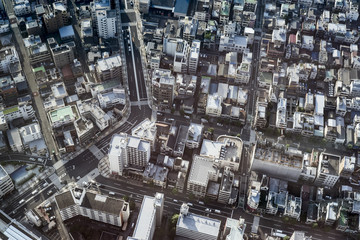 Japan, Tokyo, Skyline