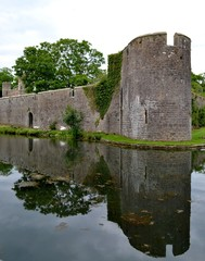 Exterior from Bishops Palace in Wells