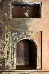 Old grungy niche
