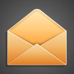 Lettera aperta vuota