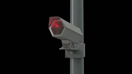 Observation camera // 3D Visualisation