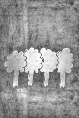 Bäume - Silhouette