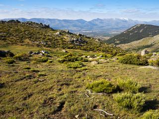 Cañada de la Cimosa en la Sierra de la Paramera