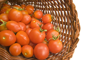 Basket of Cherry Tomatoes