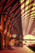 Obrazy na płótnie, fototapety, zdjęcia, fotoobrazy drukowane : Modern building London King's Cross Station