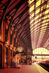 Modern building London King's Cross Station