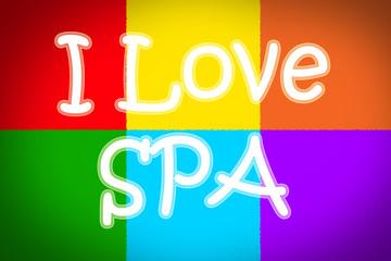 I Love Spa Concept