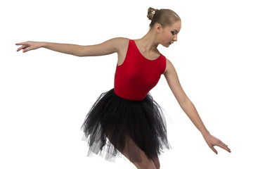 Image of young ballerina