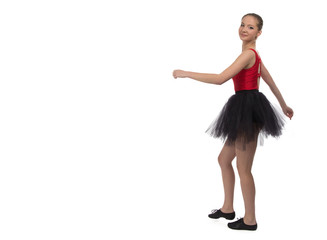 Photo of going young ballerina