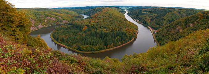 Naturwunder im Saarland: Die Saarschleife von Mettlach