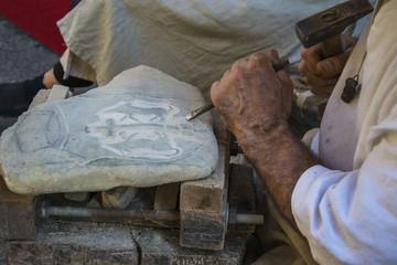 Scultore di pietra