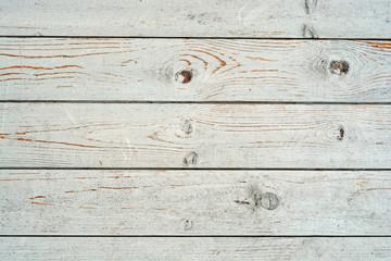 Oud hout met gebladerde verf als achtergrond
