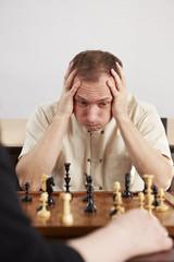 Schach, Mann, hoffnungslos