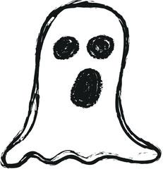 doodle ghost, Halloween