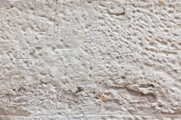Old White plaster wall texture background