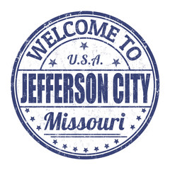 Welcome to Jefferson City stamp
