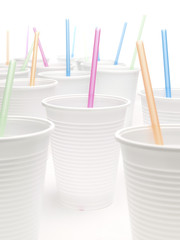 Party plastic cups