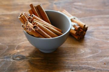 cinnamon in a bowl