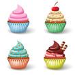 Sweet cupcake set - 70862451