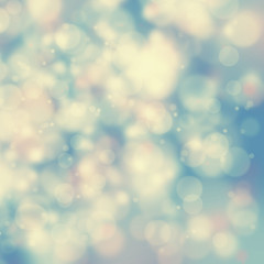 Blurry vintage bokeh background
